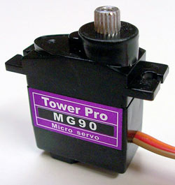 TowerPro MG90 Servo Specifications and Reviews