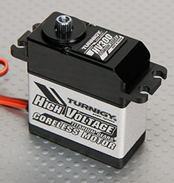 Turnigy HV-300 Servo Specifications and Reviews